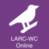 Image shows the purple LARC-WC Online tile with a white bird